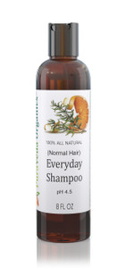 PURAVEDA EVERYDAY SHAMPOO - Organic Daily Color Safe Shampoo for Normal Hair - Sulfate Free