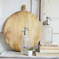 Rustic Wood Bread Board