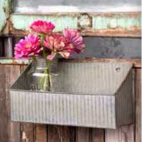 Galvanized Box Shelf