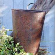 Rustic Metal Door Bucket