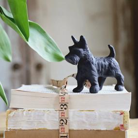Iron Scottish Terrier Dog