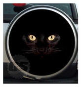 BLACK PANTHER SPARE WHEEL COVER STICKER