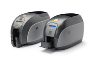 Zebra ZXP Series 1 Single-Sided Card Printer, Monochrome Media Starter Kit
