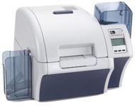 Z81-E00CD000US00 Zebra ZXP Series 8 Retransfer Single-Sided Card Printer, Contact Station, Media Starter Kit, USB and Ethernet Connectivity, US Power Cord