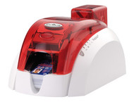 PBL401FRH Pebble 4 Evolis Fire Red Single-Sided Color ID Card Printer