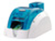 Pebble 4 Evolis Ocean Blue Singe-Sided Color Card Printer w/ Mag Encoder
