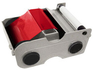 44205 Fargo Persona Red Cartridge w/ Cleaning Roller - 1000 images