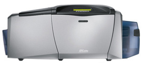 54115 Fargo DTC400e Dual-Sided Color ID Card Printer w/ Mag Encoder