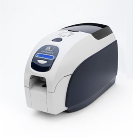 Zebra ZXP Series 3 Dual-Sided Card Printer, USB, US Power Cord, Contact Encoder +  Contactless MIFARE , Enclosure Lock