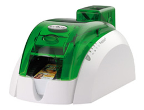 PBL401JGH-00AC Pebble 4 Evolis Jungle Green Single-Sided ID Card Printer