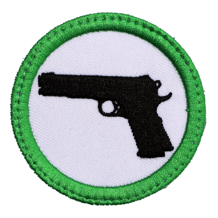 GUNS WELCOME PATCH