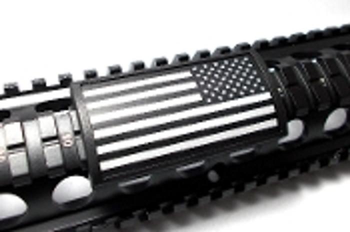 US FLAG ENGRAVED ALUMINUM STARS RIGHT