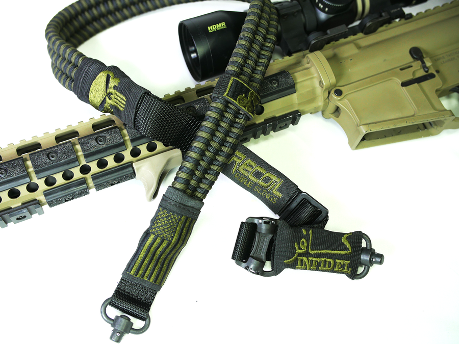 BLACK & OD GREEN RECOIL SLING