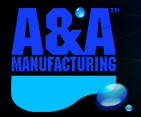 A&A MANUFACTURING | 1-1/2 T-VALVE ACTUATOR | 6 PORT LOW PROFILE | 555807
