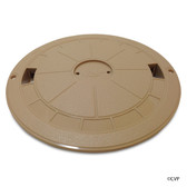 CUSTOM MOLDED PRODUCTS | ROUND SKIMMER COVER TAN | DECK LID BEIGE | 25544-019-000
