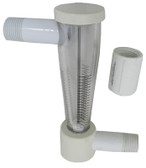 Pentair | COMMERCIAL FLOW METER  320 | R172276 | 1/2-Inch Corrision Resistant Commercial Flow Indicator | R172276