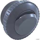 "Pentair Pool Products | Inlet Fitting, Pentair, 1-1/2""mpt, Slotted Orifice, Dk Gray 