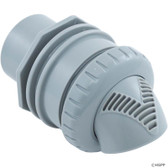 "Infusion Pool Products | Inlet Fitting, Infusion Venturi, 1-1/2""spg, Lt Gray 
