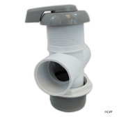 "Balboa Water Group | DIVERTER VALVE | 3-WAY FLOW 2"" SLIP X 2"" SLIP X 2"" SLIP - GRAY 