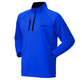 FUNKTION GOLF Thermal Performance Pullover Sweater: Electric Blue