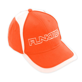 Funktion Golf Mens Orange/White Hat