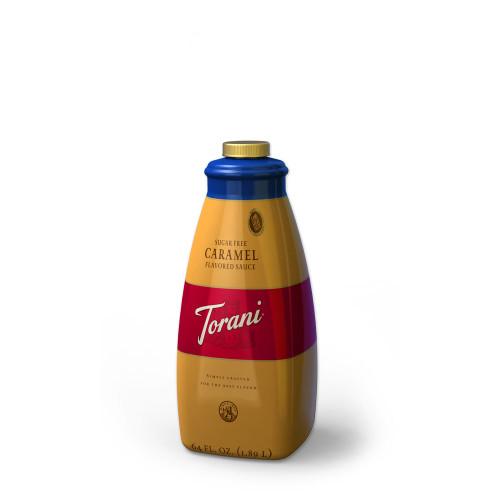 Sugar Free Caramel Sauce 64oz Bottle