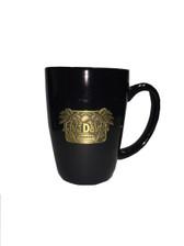 Black Java Dave's Logo Badge Mug