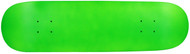 Moose Blank Deck - Green Neon 7.75""
