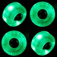 LED Wheel - 54mm Green (Set of 4)