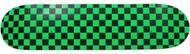 "Moose - Checkered Green/Black Deck 7.75"""