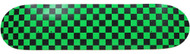 "Moose - Checkered Green/Black Deck 7.5"""