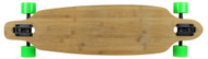 "Moose - 36"" Drop Thru Bamboo Top Complete Green Wheels"