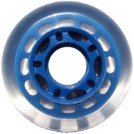 Inline wheel - Clear / Blue 68mm 78a 5 Spoke