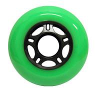 Inline wheel - Green / Black 76mm 89a 5 Spoke