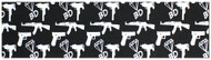 "Black Diamond - 9x33"" Guns (Single Sheet)"