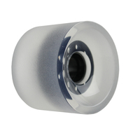 Longboard Wheel - 70mm 82a Shaved Clear