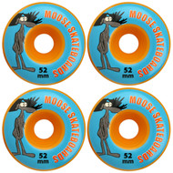 Moose- 52mm 99a Wheels Orange (Set of 4)