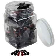 "Dimebag Hardware - 25sets Red Eyes 1"" Phillips"