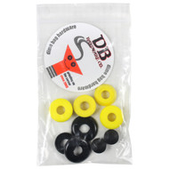 Dimebag Hardware Bushing Kit Yellow 95A