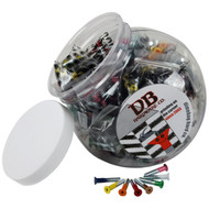 "Dimebag Hardware - 50sets 1"" Phillips Colors"
