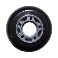 Inline Wheel - Grey/Black 70mm 82A 5-Spoke