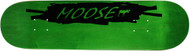 Moose Deck Scribble Black Green 8.0""