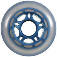 Inline Wheel - Blue/Cloudy 76mm 86A 5-Spoke