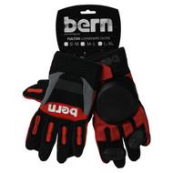 Bern Slide Gloves Fulton Red S/M