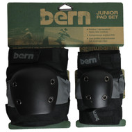 Bern Pad Set Junior Grey/Black