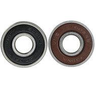 Econo Bearing Rubber Shield Brown/Black (Single Bearing)