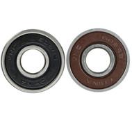 Econo Bearing Rubber Shield Brown/Black (Single Bearing)