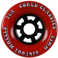 Bigfoot Wheel - 83mm 78a Cored Classics Red
