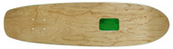 "Rolling Tray Cruiser Deck 7.75"" x 30"" Natural/Green"