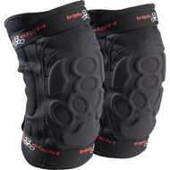 Triple 8 Knee Pads ExoSkin Black Large